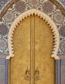 Oriental door