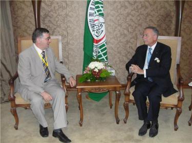 Beqir Ismaili & Ekmeleddin Ihsanoglu