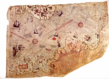 Piri Reis world map