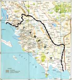 Harta e Çamërisë