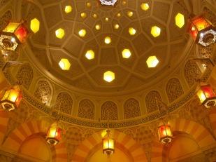 Hyrja e brendshme e një hamami turk