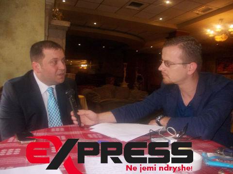 Z.Osmani në intervistën për portalin ExPress.mk me gazetarin  Aleksandër Rrema
