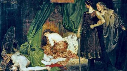 Papa i vrarë në krevatin e dashnores